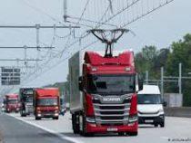 Первый электрический автобан открыли в Германии