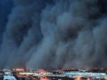 Австралийский город Милдьюра на20 минут погрузился вкромешную тьму
