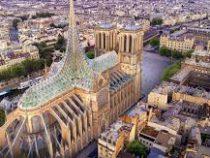 ВоФранции группа архитекторов представила проект реставрации собора Парижской Богоматери