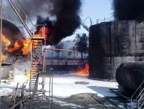 На сгоревшей нефтебазе регулярно нарушались правила пожарной безопасности