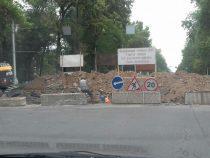 В Бишкеке в связи с ремонтом теплосетей закрыт отрезок улицы Салиевой