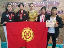 Четыре медали выиграли кыргызстанцы на международном турнире потаэквондо