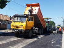 Ремонт столичных дорог продолжается