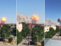 Скорый поезд Бишкек – Москва отменен из-за взрывов в Арыси