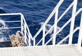 В Британии береговая охрана спасла людей с горящего судна