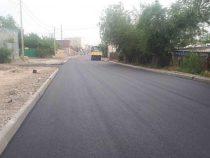 В Бишкеке продолжаются дорожные работы