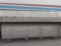 В Таласской области выявлена очередная партия контрабандного бензина