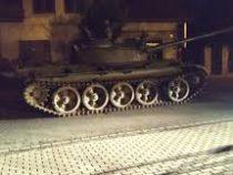 Пьяный поляк «угнал» советский танк Т-55