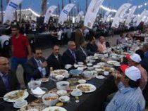 Самый длинный стол на Рамазан накрыли в Египте