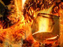 Во Франции сгорели тысячи литров коньяка