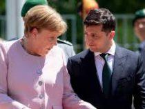 Меркель почувствовала недомогание вовремя встречи с Зеленским