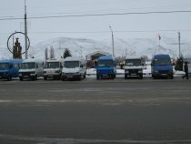 В Нарыне повысились тарифы на проезд в маршрутных такси