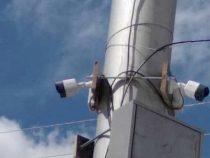В Нарыне появились камеры видеонаблюдения