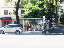 В Бишкеке появились стеклянные остановки