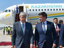 Саммит ШОС. В Кыргызстан прибыл президент Казахстана