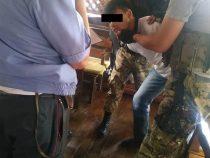 В Оше задержан мужчина с пистолетом