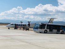 С сегодняшнего дня открылся авиарейс Алматы – Тамчы – Алматы