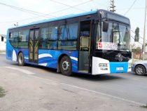 В Бишкеке автобус №5 вышел на линию