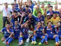 Столичный «Дордой» завоевал Суперкубок Кыргызстана по футболу