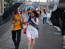 В испанской Наварре бушует наводнение