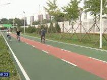 ВПекине открыли первую встране магистраль для велосипедистов