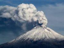 Вулкан Попокатепетль проснулся в Мексике