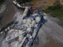 ВЧехии  потерпел крушение товарный поезд
