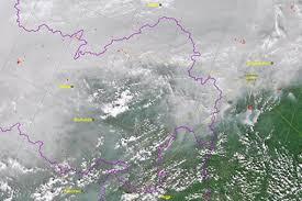Дым от лесных пожаров в Сибири накрыл Монголию