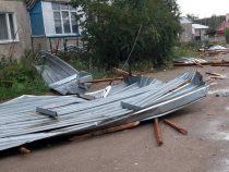 В Караколе подсчитали ущерб от сильного ветра