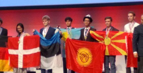 Бишкекчанин  Мирхад Чекирбаев  завоевал бронзовую медаль наМеждународной химической олимпиаде
