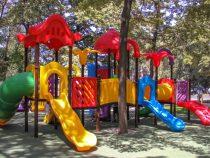 В столице появилась новая детская площадка