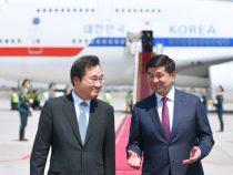 Премьер-министр Кореи прибыл в Кыргызстан