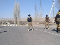Обстановка накыргызско-таджикском участке госграницы относительно стабильная