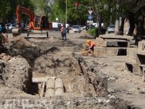 Ремонт на улице Пушкина продлен