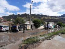 В Нарыне ликвидировали последствия селей