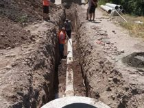 В северной части столицы началось строительство канализационной сети