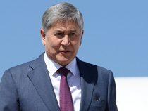 Алмазбека  Атамбаева арестовали до 26 августа