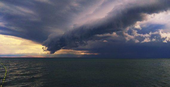 На Иссык-Куле в выходные ожидаются сильные дожди и понижение температуры воздуха