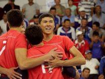 Сборная Кыргызстана поволейболу пробилась вполуфинал чемпионата Азии