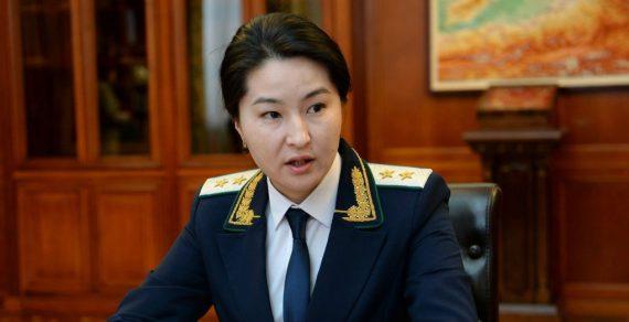 Экс-генпрокурор Индира Джолдубаева помещена под домашний арест
