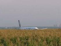 Десять человек пострадали при аварийной посадке самолёта в Подмосковье