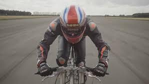 Британский велосипедист разогнался до 280 километров в час