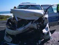 Жительница Новой Зеландии выжила в аварии благодаря толстому животу