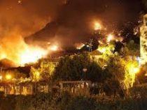 Канары охвачены огнем