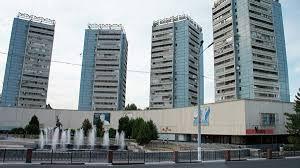 В Ташкенте произошел сильный пожар в телецентре