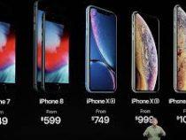 Компания Apple представит всентябре три новых модели iPhone