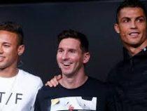 Роналду, Месси и Салах поборются за звание игрока года ФИФА