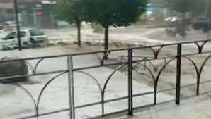 ВМадриде из-за сильного ливня перекрыли станции метро искоростные магистрали