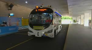 Беспилотные автобусы вышли на тест-драйв в Сингапуре