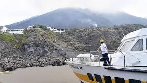 Извержение вулкана в Италии застало туристов врасплох